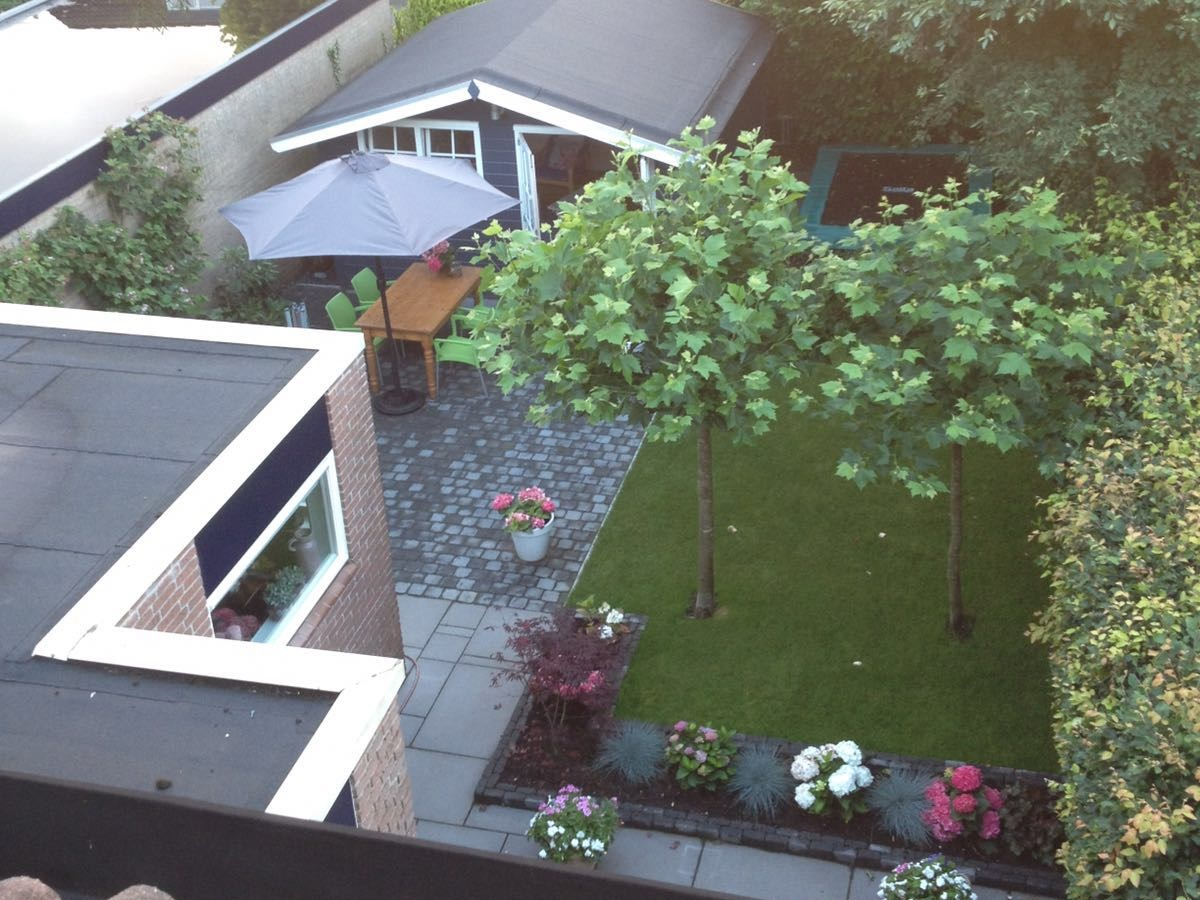 Tuin aanleg Putten