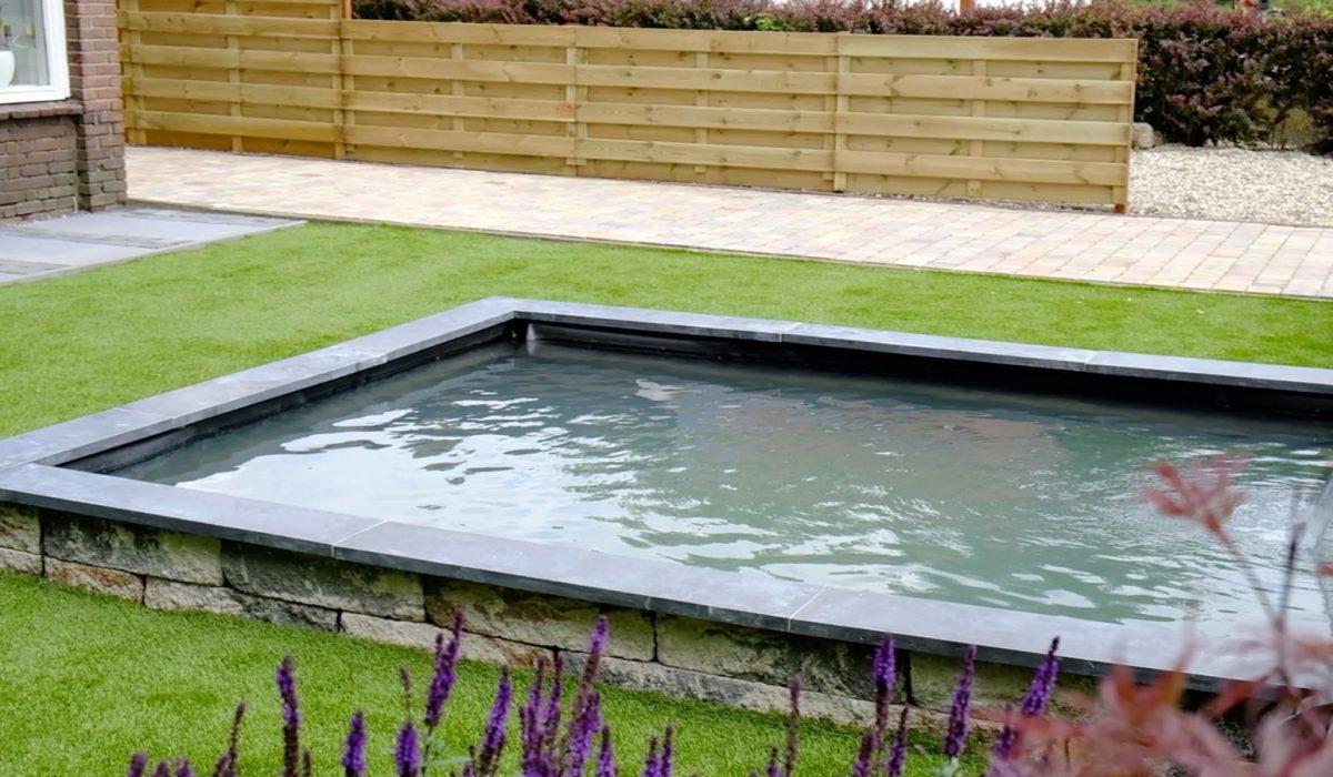 Aanleg tuin met vijver Putten