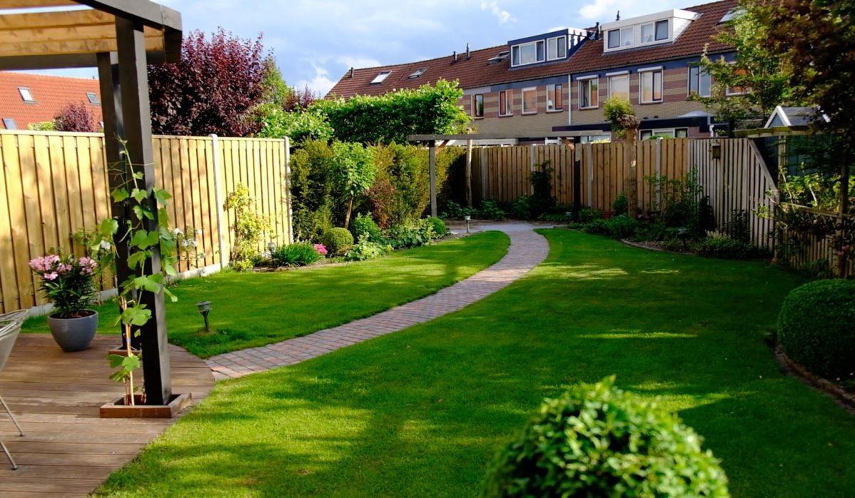 Tuin met pergola aanleggen